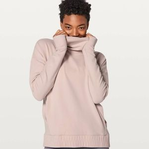 Lululemon Stress Less Pullover In Pink